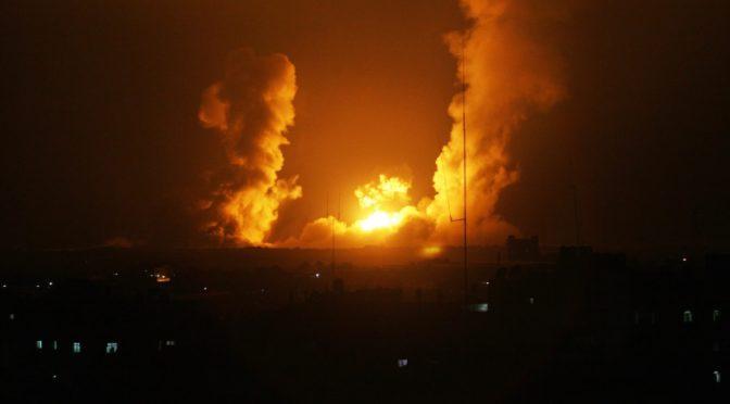 Gaza sufre de nuevo la ira del sionismo
